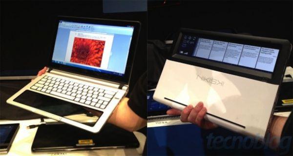 Intel mostra notebook com parte transparente touch screen; confira!