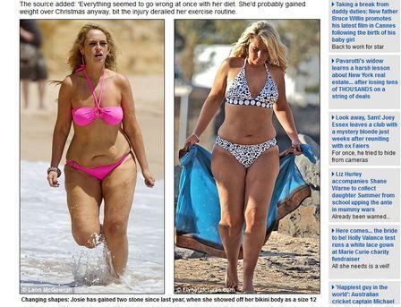 Vencedora do Big Brother chora ao ver suas fotos na praia e promete emagrecer
