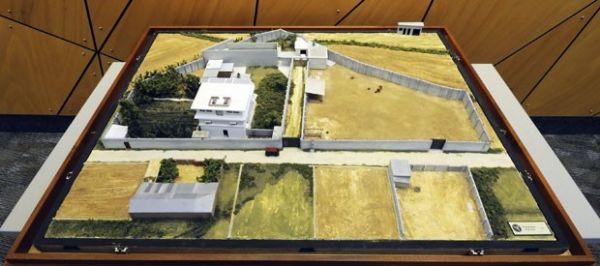 EUA mostram maquete detalhada do complexo onde Bin Laden foi morto