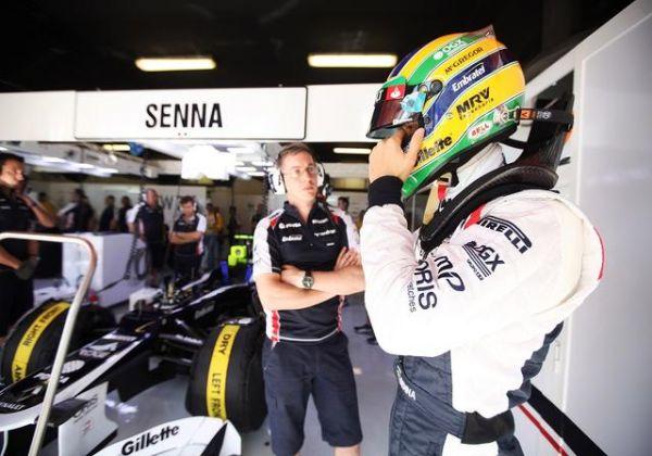 Williams descarta possibilidade de Bruno Senna sair da equipe
