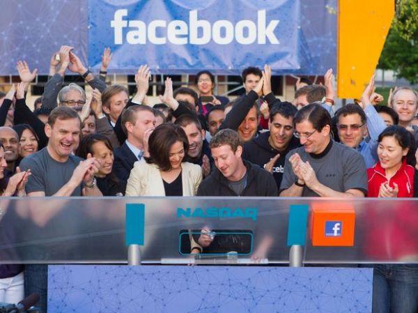 Facebook tem estreia modesta na bolsa e ação termina estável