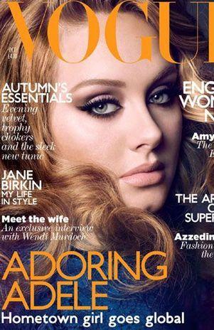 Revista de moda com Adele tem um dos piores número de vendas