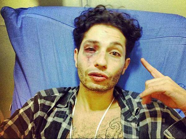 Cantor agredido em boate diz que se sentiu humilhado e impotente