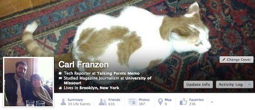 Facebook testa novo design para a Timeline dos usuários