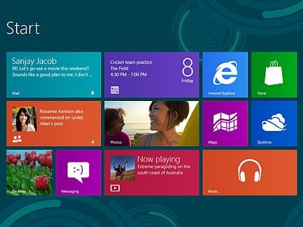 Windows 8 virá com interface limpa e moderna, afirma Microsoft