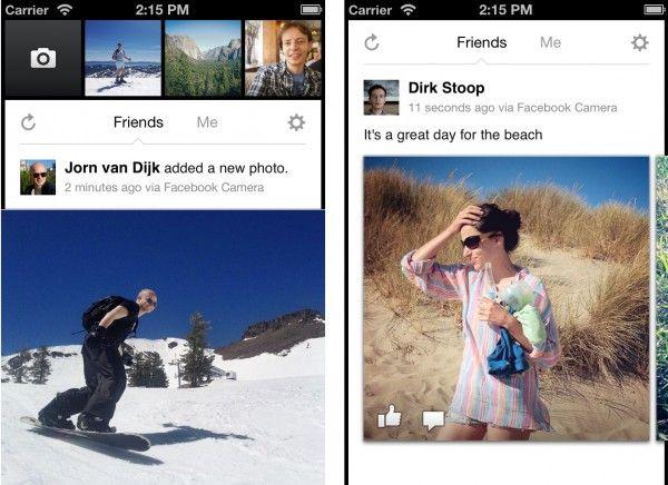Facebook lança Camera, um app para fotografias parecido com o Instagram