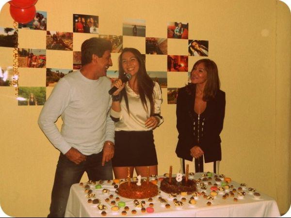 Filha de Renato Gaúcho comemora a maioridade com festa