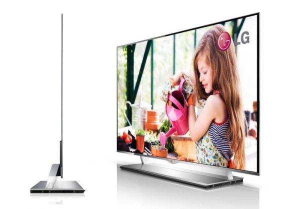 LG apresenta a sua versão de HDTV OLED de 55 polegadas