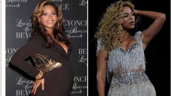 Beyoncé diz que emagreceu 27 kg após nascimento da filha
