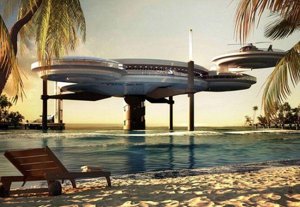 Hotel em Dubai promete oferecer quartos a 10 metros embaixo d