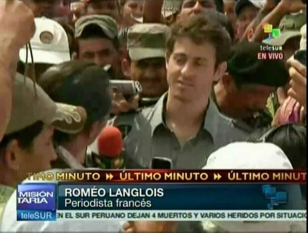 Farc libertam jornalista francês após um mês de cativeiro na Colômbia