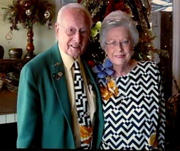 Junto há 64 anos, casal revela segredo: