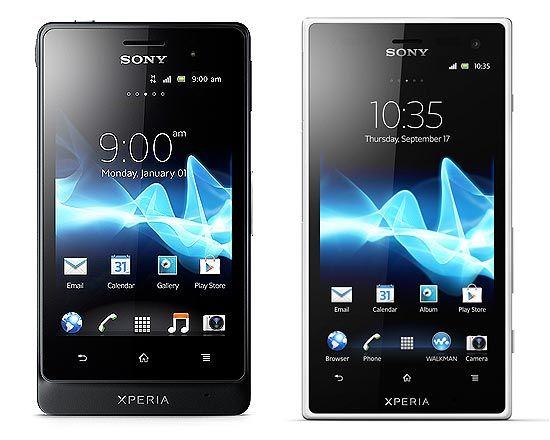 Sony anuncia dois smartphones da linha Xperia à prova d