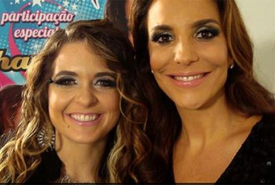 Ivete e Claudia Abreu gravam cenas para Cheias de Charme