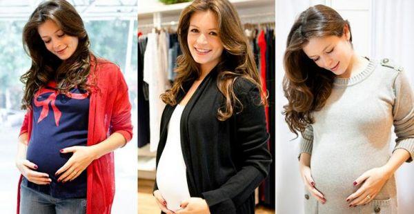 Moda Gestante: Bianca Castanho fala da transformação do seu look