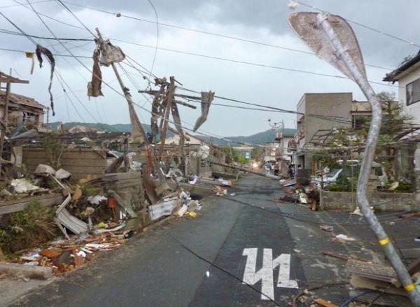 Tornado deixa pelo menos um morto e dezenas de feridos no Japão