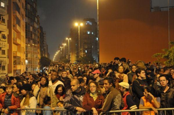 Tumultos marcam as primeiras horas da Virada Cultural