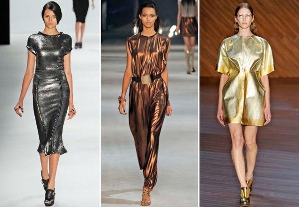 Metalizado: das passarelas para o guarda-roupa das famosas