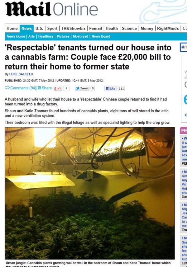 nquilinos transformam casa em fábrica de drogas e chocam donos
