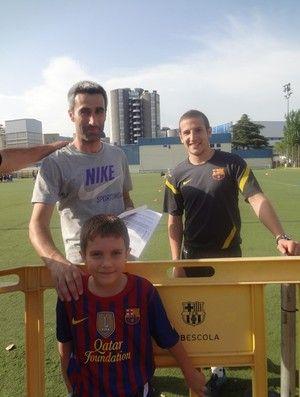 Brasileiro de seis anos pode ser aprovado na base do Barcelona