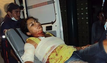 Jovem é agredida com 10 furadas de canivete pelo ex-namorado
