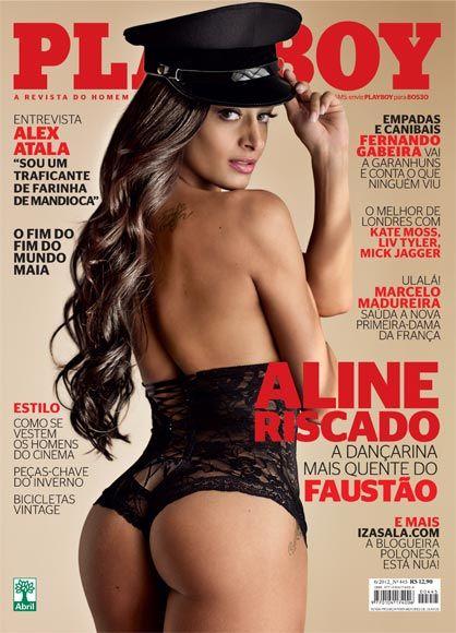 Veja Aline Riscado, dançarina do