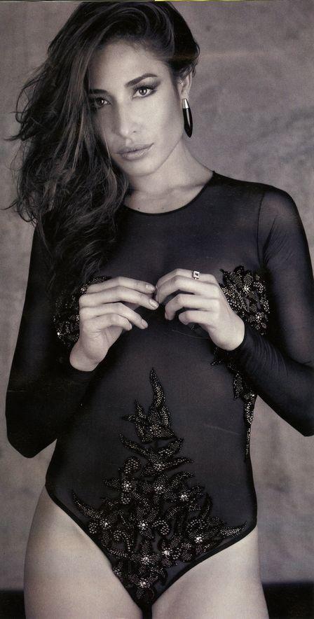 Gisele Itié posa sexy e diz que nunca recebeu proposta indecente