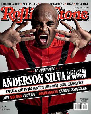 Anderson Silva vira Michael Jackson para capa de revista