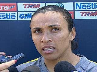 Marta levanta dúvida sobre participação na olimpíadas do Rio