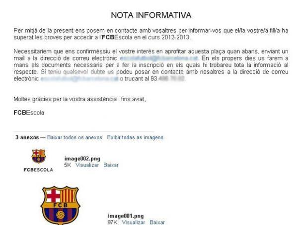 Brasileiro de 6 anos passa em testes e é convidado para jogar no Barcelona