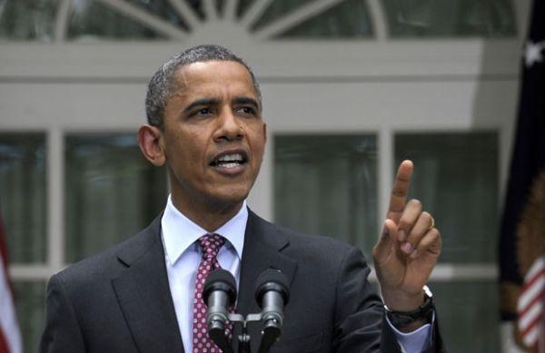 Jornalista interrompe discurso e tira Obama do sério