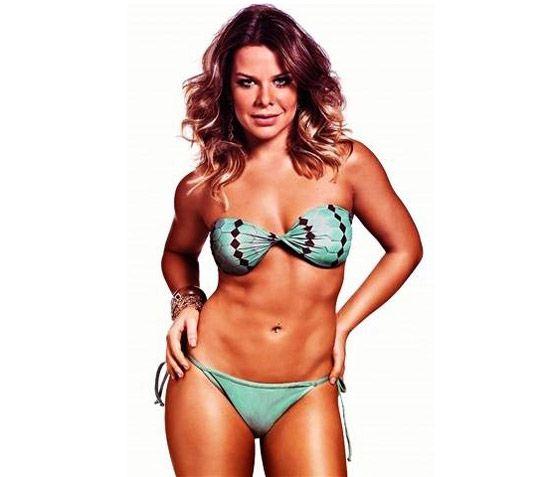 Ex-gordinha, Fernanda Souza chega aos 28 anos batendo um bolão