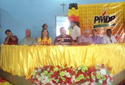 Lançamento do PMDB Jovem e Mulher reúne lideranças em Floriano