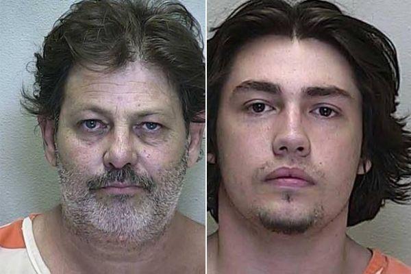 Pai e filho são presos após roubarem juntos casa nos EUA