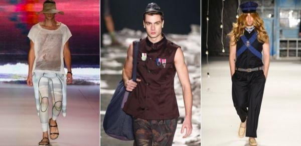 Surfistas urbanos e militares dão o tom do próximo verão masculino
