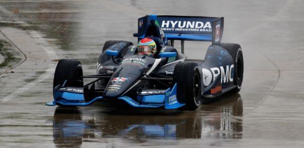 Rubens Barrichello sai em 20º lugar na etapa de Detroit da Indy