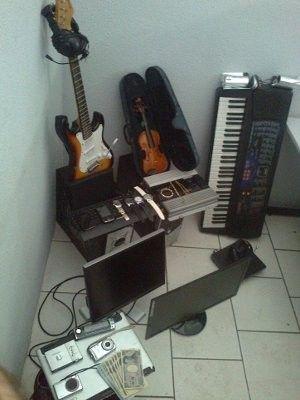 Diversos produtos roubados são apreendidos em casa de Sorocaba - SP