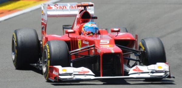 Fernando Alonso vence GP da Europa