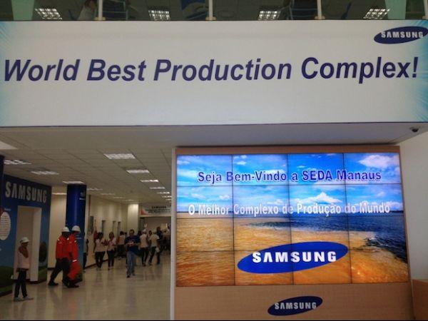Galaxy SIII está sendo montado na fábrica da Samsung no Brasil