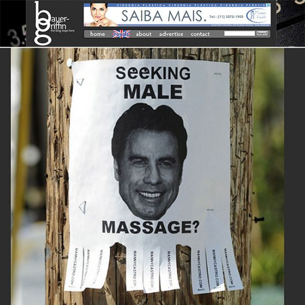 John Travolta vira motivo de piada em Los Angeles
