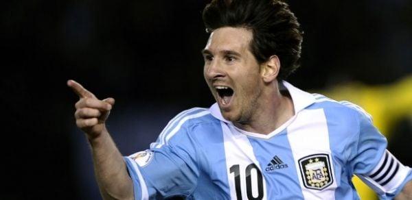Sozinho, Messi vale quase todo time titular da seleção brasileira