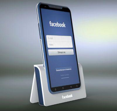 Designer cria conceito de smartphone do Facebook