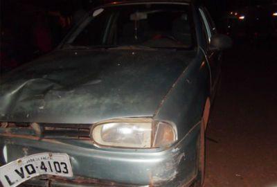 Acidente entre moto e carro deixa casal em estado grave, em José de Freias