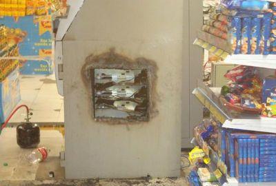 Caixa eletrônico em supermercado é arrombado em Parnaíba