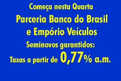 Imperdível: Taxa de juros quase zero para seminovos garantidos na Empório Veículos