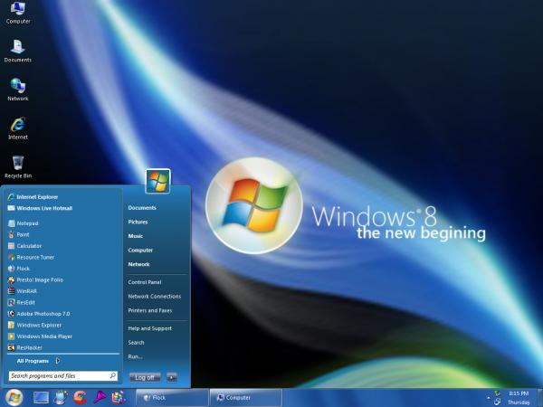 Windows 8 será lançado em outubro