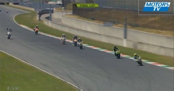Motociclista comemora vitória antes da hora e acaba em 14º lugar na Itália
