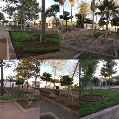 Recuperação da Praça Manoel Barbosa, valoriza os imóveis que estão no seu entorno