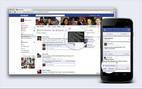 Facebook agora mostra quem no grupo viu o que você publicou