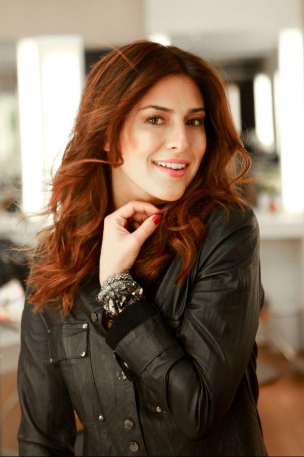 Fernanda Paes Leme muda visual e agora exibe cabelos ruivos